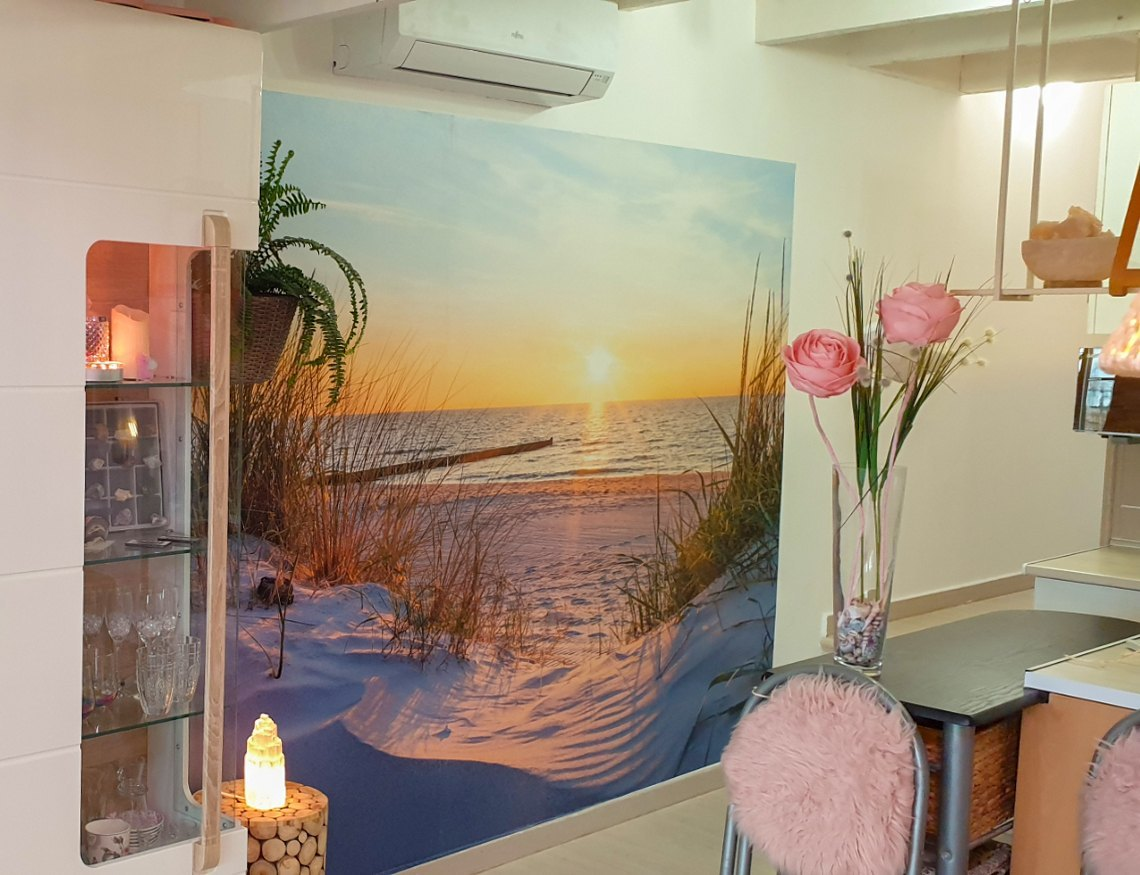 Romántico bungalow con vista al mar en venta en Denia